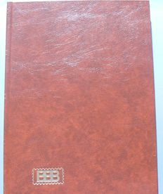 Great Britain and Commenwealth. Collection in a reservation book