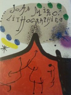 Joan Miró - Miró Lithographe I, complete with all lithographs