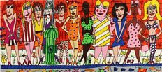 James Rizzi - Girls on the Street