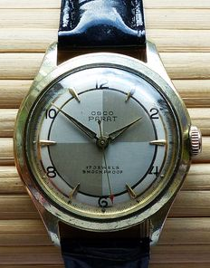 OSCO Parat 17 Jewels -- men's wristwatch from the 1950s to 60s
