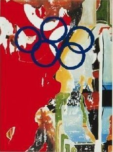 Mimmo Rotella - Composition pour jeux olympiques
