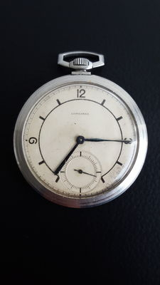 Longines men's pocket watch, first half 20th century