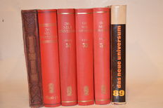 Das Neue Universum. A yearbook for home and family - 6 volumes - 1889/1972