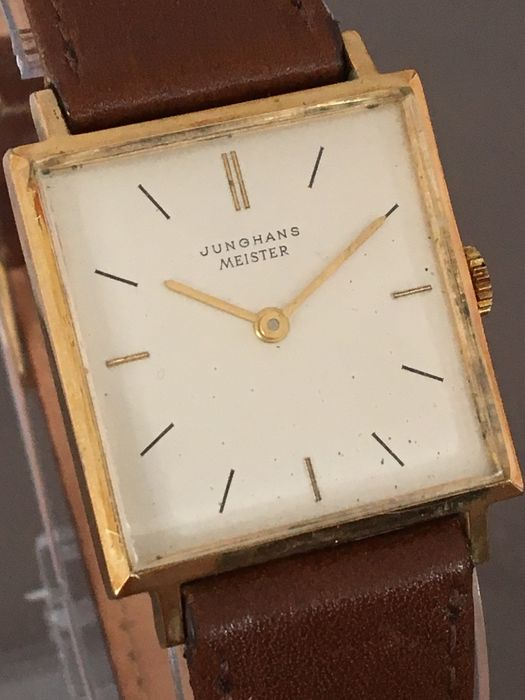 Junghans Meister, men's wristwatch - around the 1960s.