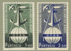 Portugal 1952 – OTAN– Michel n.° 778-779