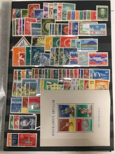 Netherlands Antilles 1949/1997 - Collection incl. blocks on album sheets