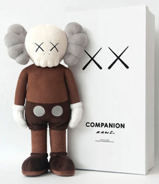 "Kaws - Plush Companion ""Clean Slate"""
