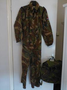 Dutch tank coverall + backpack