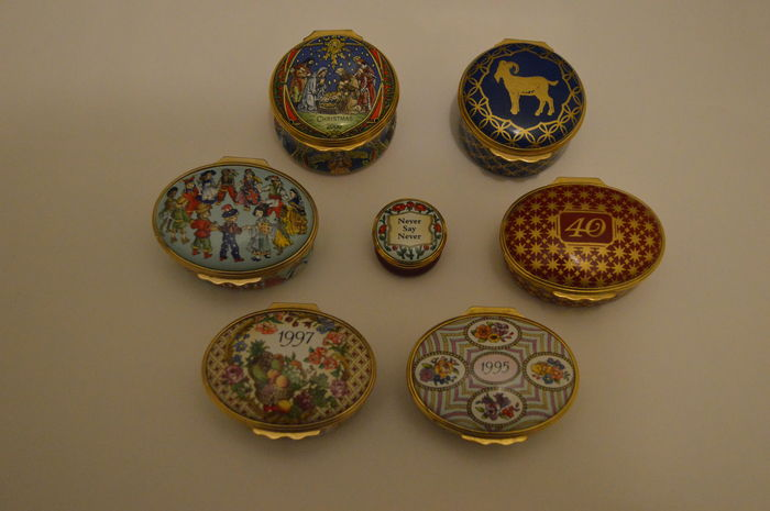 Seven Halcyon Days Enamels collection