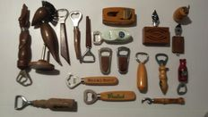 Collection of 164 bottle openers