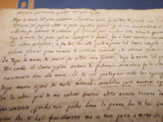 Manuscript panegyric dated 1829 with tales from the history of Saint Anthony of Padua