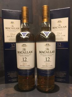 Macallan 12 Double Cask x2 bottles