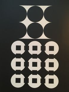 Victor Vasarely - Corpusculaires (three works)