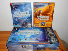 Mindstorms - 3804 + 3801 + 9731 - Robotics Invention System, Version 2.0 + Ultimate Accessories + Vision Command (Digital Color Camera)
