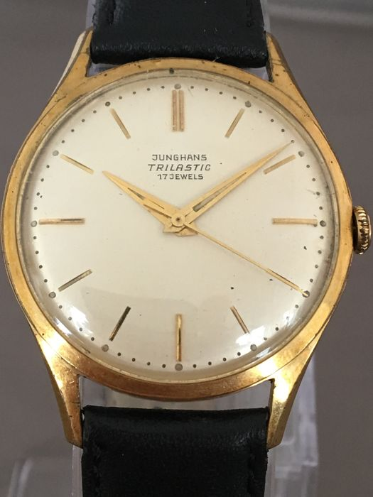 Junghans Trilastic men's wristwatch - around the 1960s.