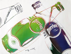 Andy Warhol - Perrier (White)