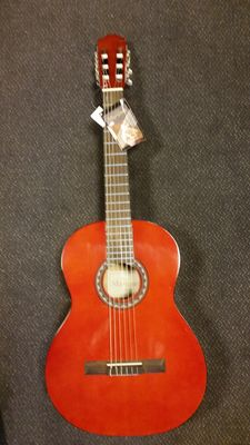 New Martinez classical guitar 4/4 classic with bag, strap and tuner