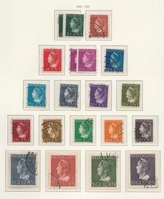 The Netherlands 1940/1944 – collection years of war – NVPH 332 up to 443.