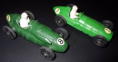 Crescent Toy - 1/43 scale - Lot with BRM MkII Grand Prix No.1285 and Connaught 2 Litre Grand Prix No.1287