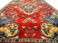 "Tabriz – 200 x 141 cm – ""Persian eye-catcher in beautiful condition"""