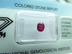Ruby- 0,79 ct