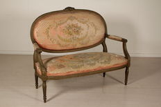Neoclassical style sofa - Italy - first half of 1900