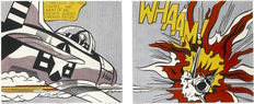 Roy Lichtenstein (after) - Whaam