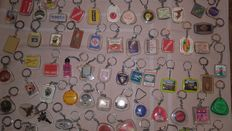 Important lot of key rings 1950s/1960s