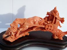 Coral carving – China – Second half 20th century