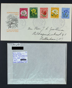 The Netherlands - 11 plate flaws on older FDC's