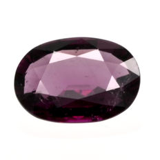Purple rubellite tourmaline – 2.47 ct