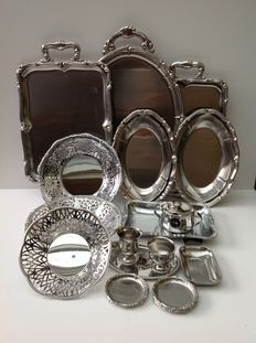 Alfra Alessi - large lot of 21 pieces in very beautiful condition (18/10 stainless steel)