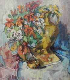Albert Wouters (Peer 1933 - Hamont 2015). Still-life