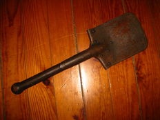 WW1 military Portugal Portuguese army CEP infantry trench shovel tool extremely rare