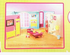 Barbie My house and Vanity supplement