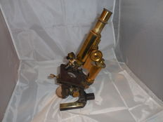 Microscope from Carl Zeiss Jena - ca 1890 - serial number: 18097