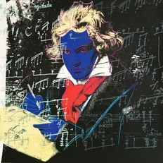Andy Warhol (after) - Beethoven