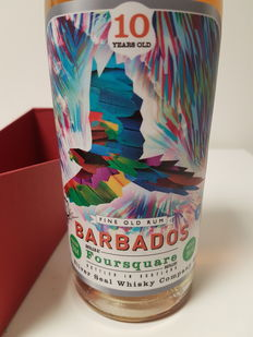 Rum Barbados: Foursquare 10 Years Old  - Bottled in Scotland by Silver Seal 10 y. o