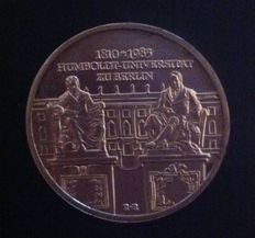 GDR - 10 Mark 1985 175 Years of Humboldt University Berlin - silver