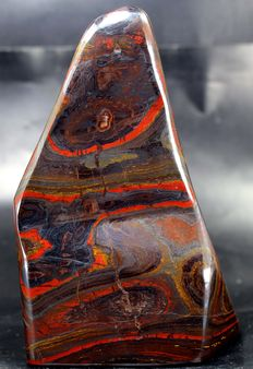 Tiger's Eye/ Iron Stone hand-polished free-form - 134 x 106 x 69mm - 1136gm