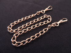 18 kt Gold Pocket Watch Chain.