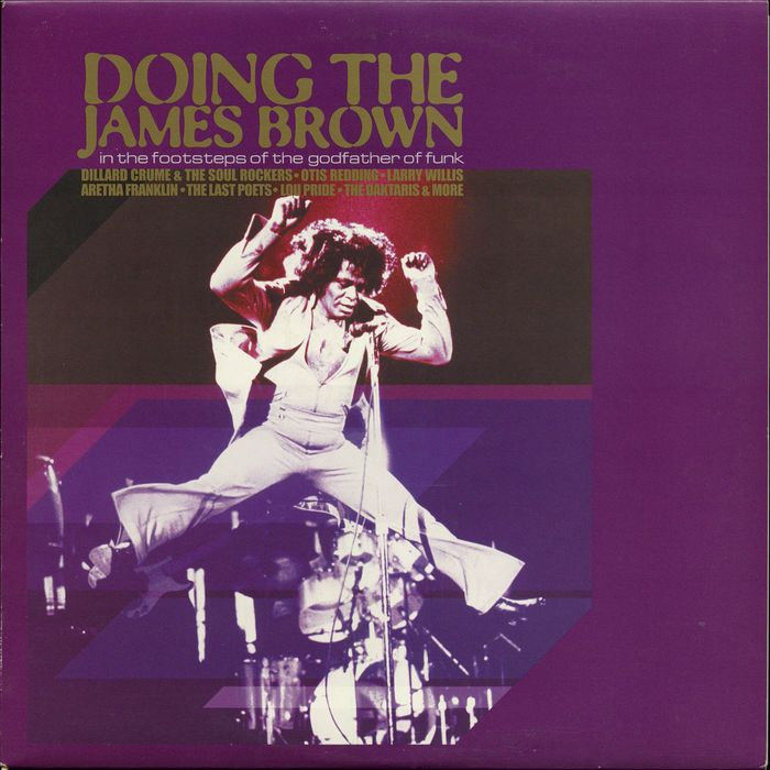Lot of six albums by Godfather of FUNK James Brown! Includes