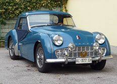 Triumph - TR3 A with rigid roof - 1957