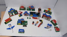 Legoland / Classic Town -  ± 10 sets o.a. 364 + 369 - Harbour Scene + Coast Guard Station