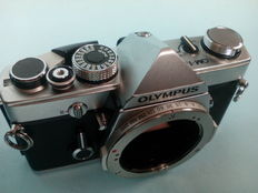 Olympus OM-1 analog camera  from the late 1970s - Zuiko lenses