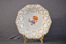 Ceremonial plate by Meissen Germany around 1940- Large