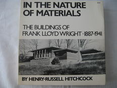 Frank Lloyd Wright - Lot with 3 books - 1958 / 1975