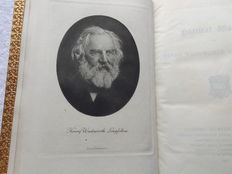Poets Corner - Longfellow & Shelly - The Poetical Works - 2 volumes - 1853/1917.