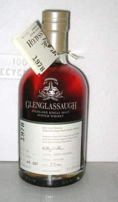 Glenglassaugh 1978 - 35 Years Old - Highland - 70cl. - 41,6%