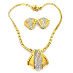 Lanvin Necklace and earrings set